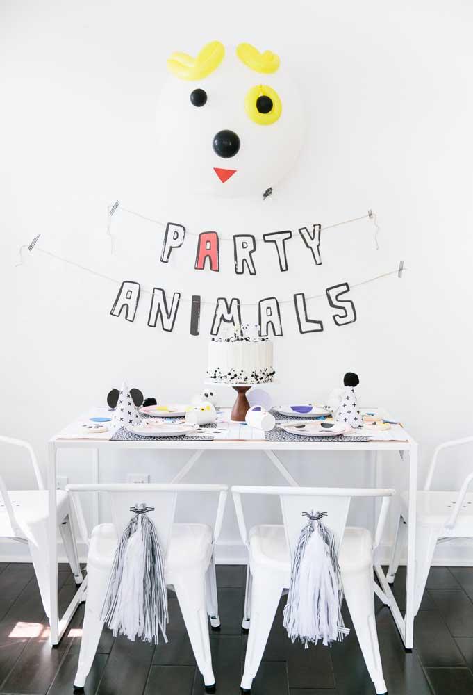 Que tal você mesmo preparar o painel de aniversário?