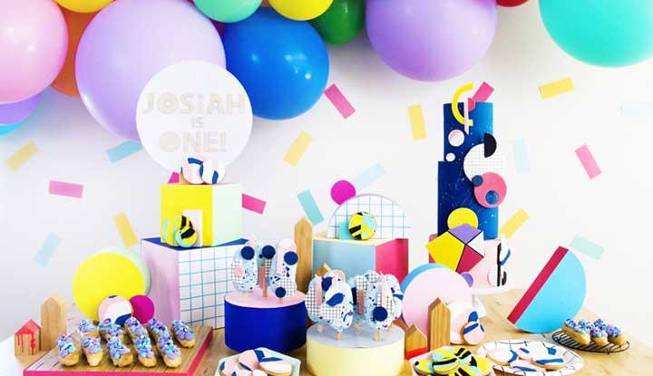Decoraç u00e3o De Aniversário Simples 75 Fotos Para Arrasar Na Festa