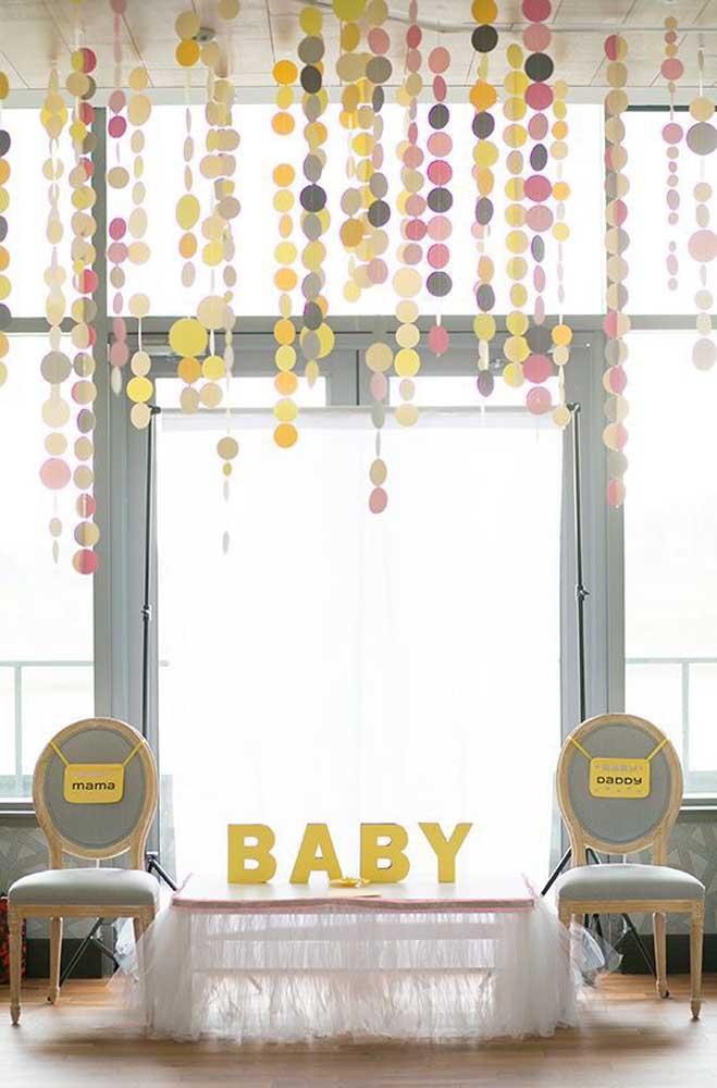 Separe um espaço para a mamãe e o papai do bebê na hora das brincadeiras