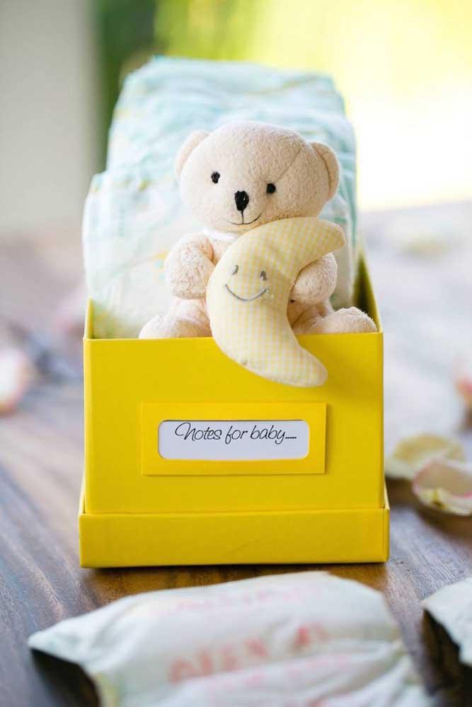 Convide os convidados para escrever lindas mensagens para o bebê