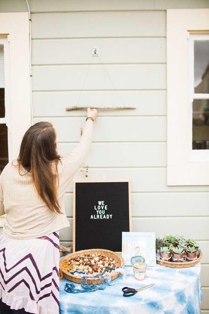 Que tal fazer o chá de bebê ao ar livre?