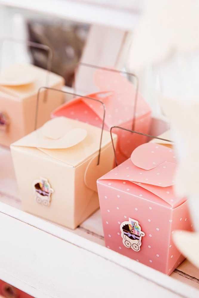 Aposte em embalagens diferenciadas para surpreender os convidados