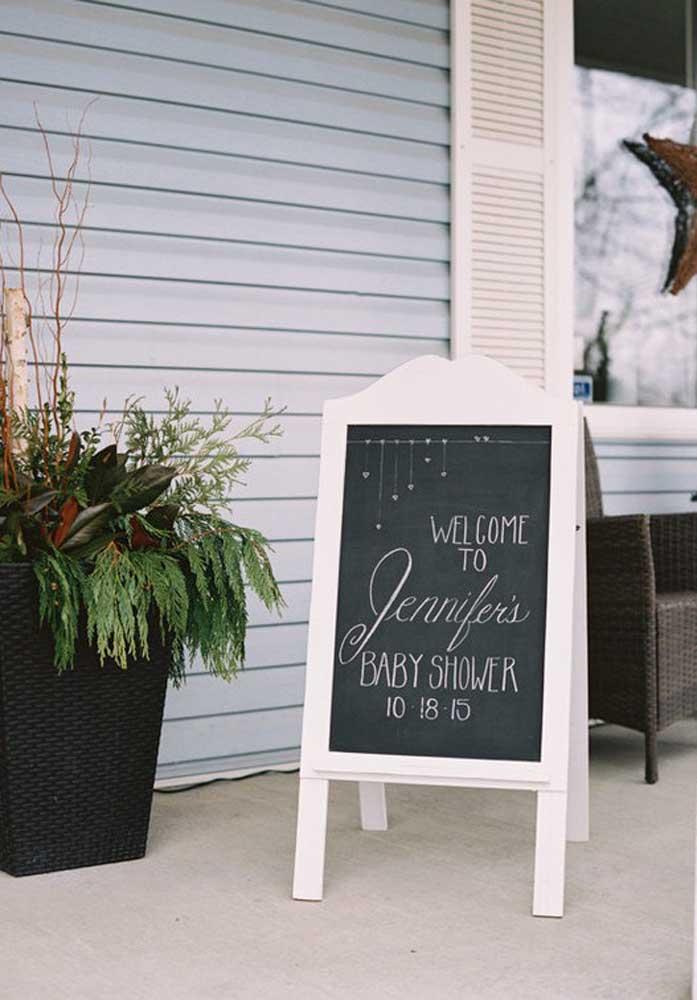 Faça uma bela recepção para os seus convidados