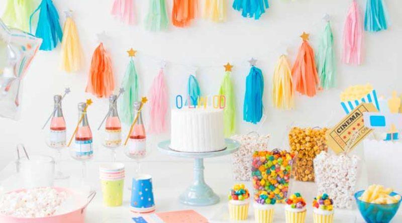 Festa infantil simples: 60 ideias de decoração de festa infantil
