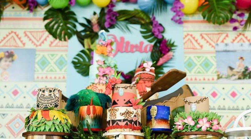 Festa Moana: 65 inspirações para decorar a sua festa