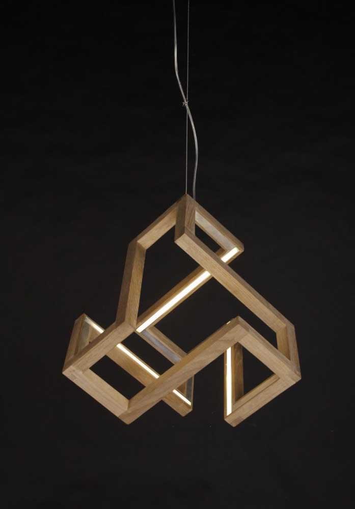 Como esse modelo de luminária de teto