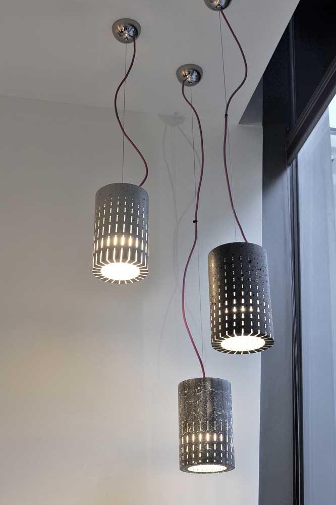 Você acredita que isso é uma luminária de PVC? Acredite! Elas podem surpreender você!