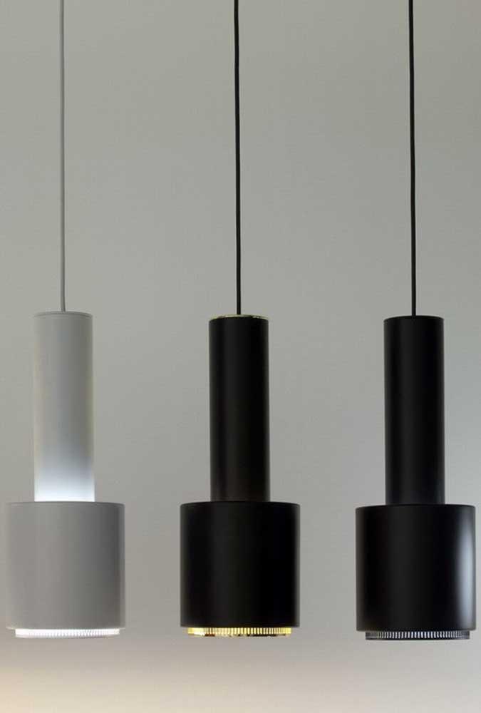 O PVC é tão surpreendente que não dá para acreditar que alguns modelos de luminárias são feitos com esse material