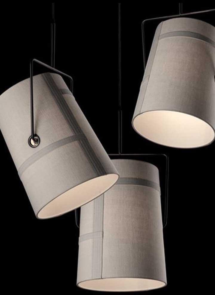 Para customizar o PVC você pode usar tecidos na textura de sua preferência que combinem com a decoração do ambiente
