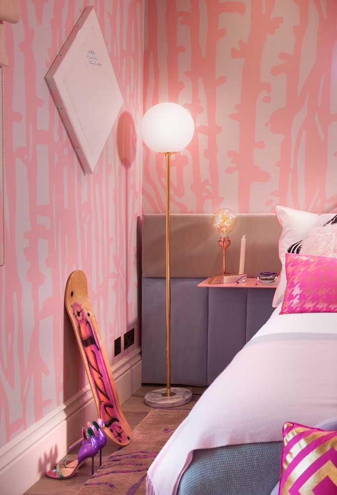 No quarto de adolescente feminino algumas cores predominam para deixar o ambiente mais romântico, mas é possível usar alguns elementos diferentes para chamar atenção.