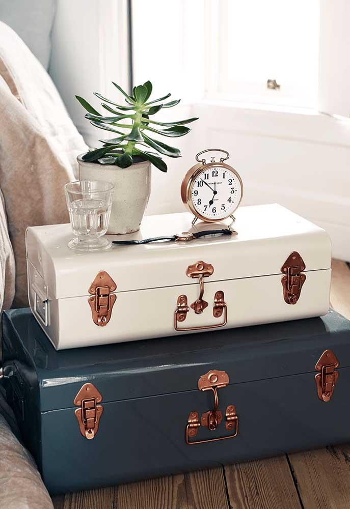 Um toque de sofisticação e glamour para seu quarto