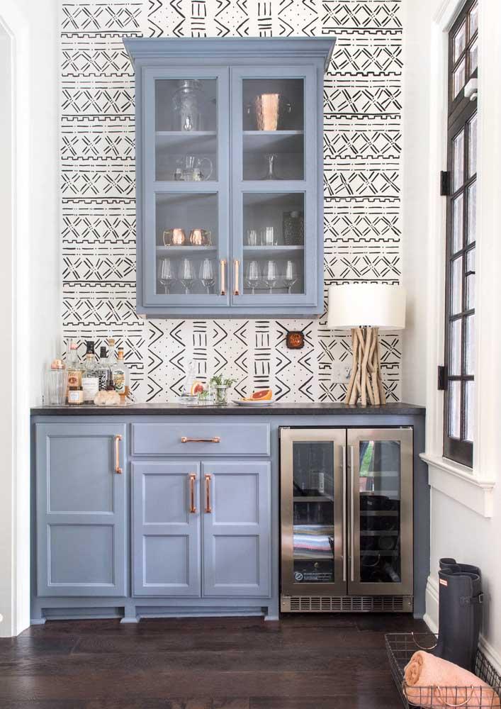 Faça uma linda combinação de cores para decorar sua cozinha