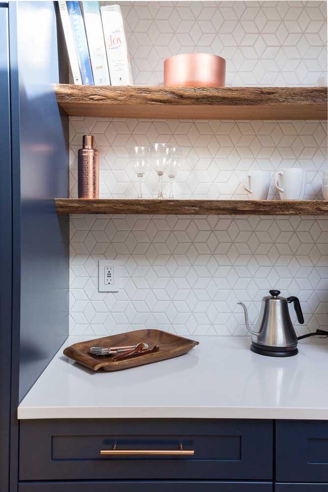Pequenos utensílios da cozinha dão o toque especial ao ambiente