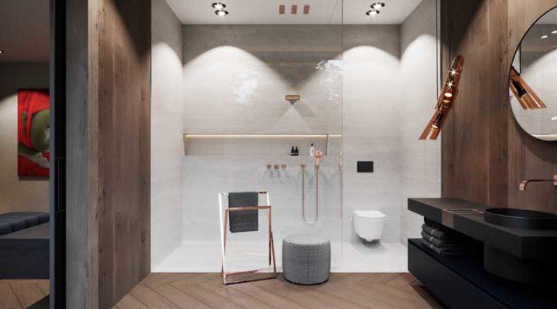 Rose Gold: 60 ambientes decorados para você se inspirar
