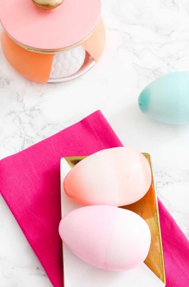 Com sabonete você consegue fazer de tudo, até um ovo