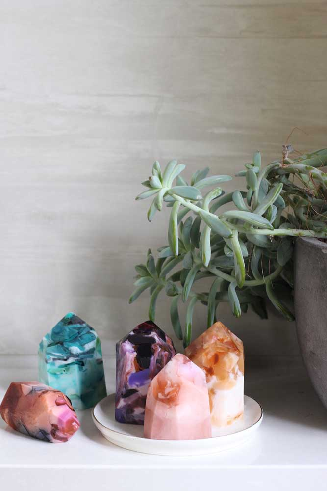 Outros modelos de pedras que podem ser feitos com sabonetes