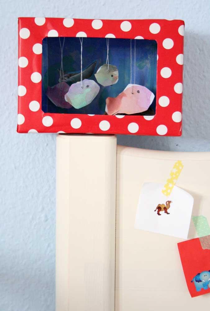 Usando a criatividade é possível produzir os mais variados objetos com caixa de sapato.