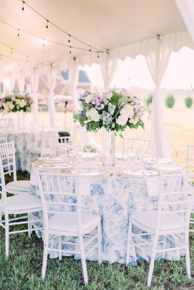 Estampas florais são românticas e delicadas