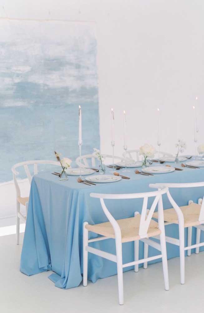 Uma festa de casamento pra lá de tranquila