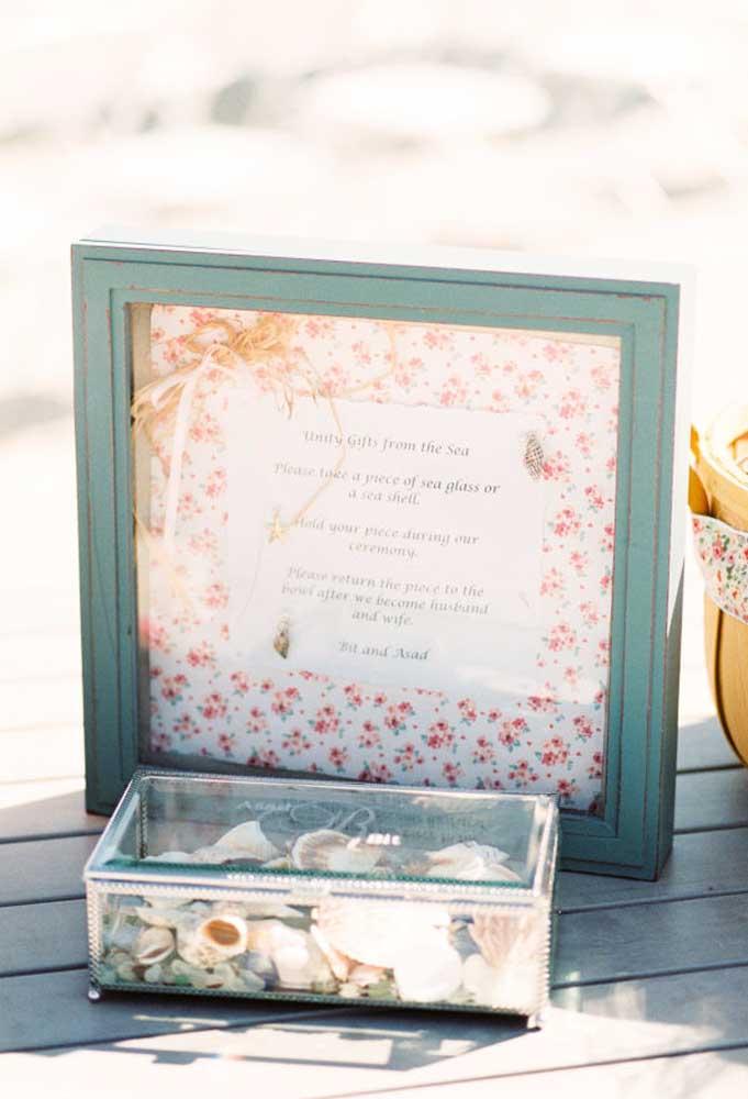 Algumas ideias originais podem ser colocadas em prática na hora de preparar o casamento na praia. Portanto, use e abuse da sua criatividade.