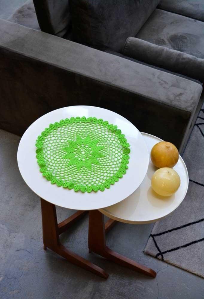 Alguns pontos de crochê são bem simples de fazer, mas nem por isso a peça deixa de ser linda.