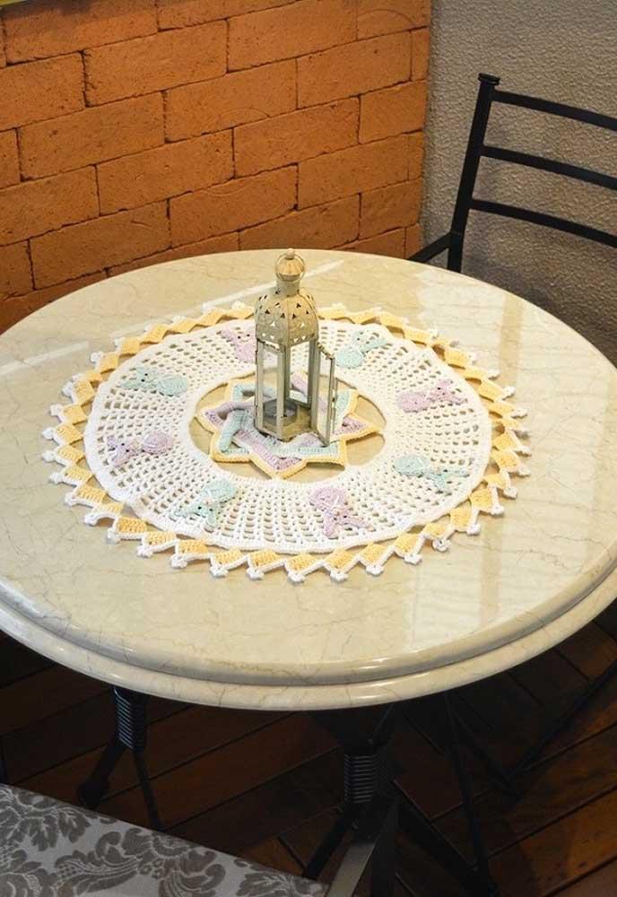 O crochê permite fazer cada peça linda que deixa qualquer ambiente aconchegante.