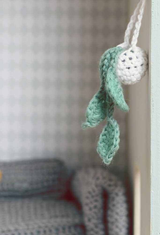 Crie peças decorativas com o crochê que ficam perfeitas em qualquer ambiente.