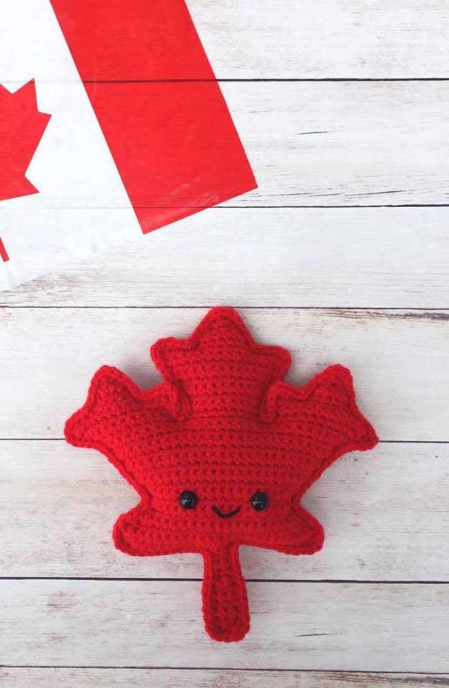 Você pode fazer também o trevo canadense, mas para deixá-lo engraçado, coloque olhinhos.