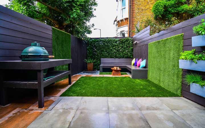 Quem disse que a grama não pode ser colocada na parede também?