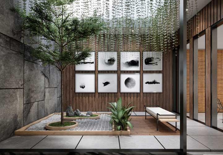 Já pensou em como seria um jardim de inverno e um jardim suspenso na mesma proposta?