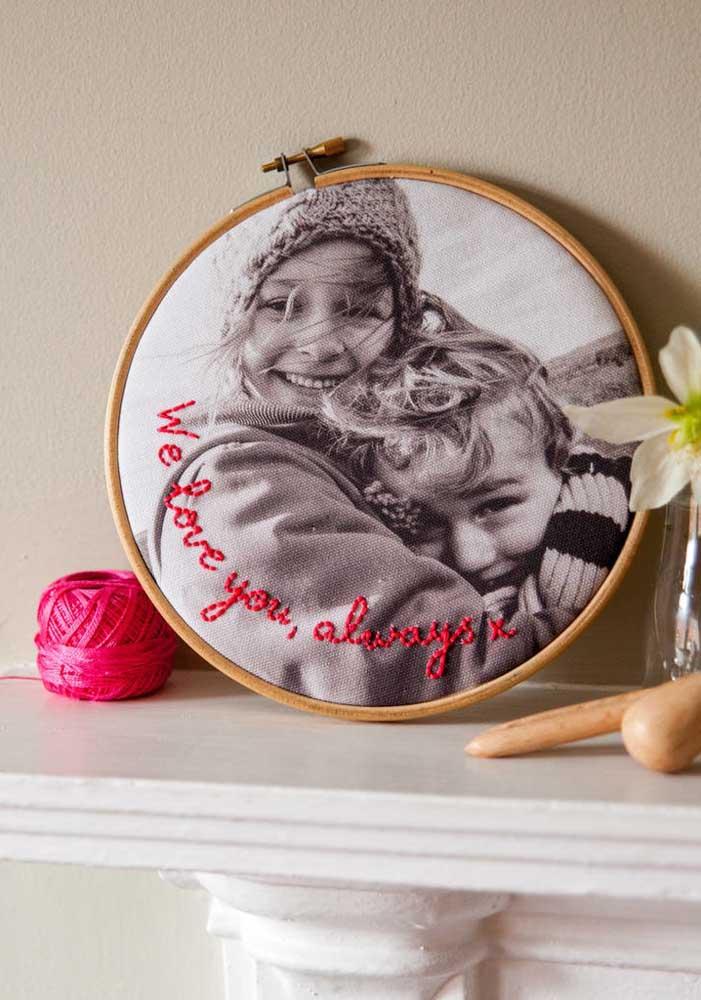 Não há mamãe que resista às fotos das crias. Então, aproveite a oportunidade e faça um belo presente para a mulher mais especial da sua vida.