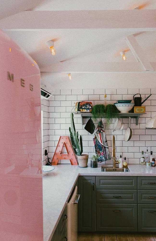 Aposte em uma decoração mais cool para a sua cozinha.