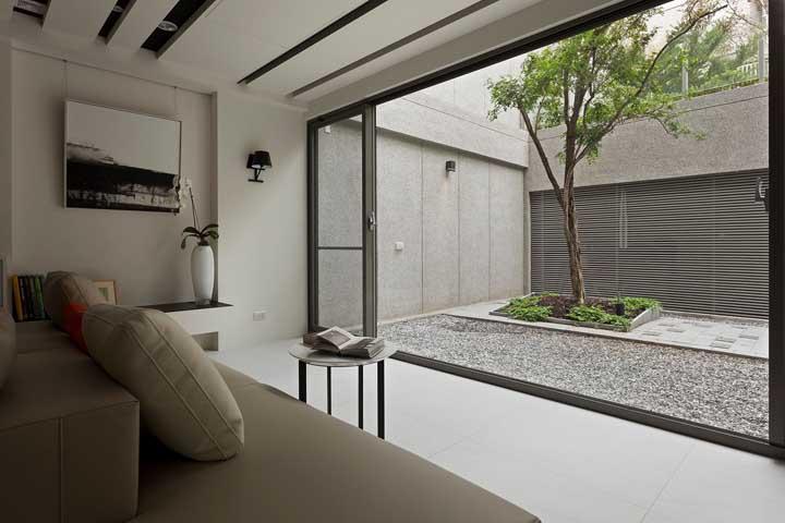 Tem coisa melhor do que ter um espaço como esse para contemplar e relaxar depois de um dia cansativo?