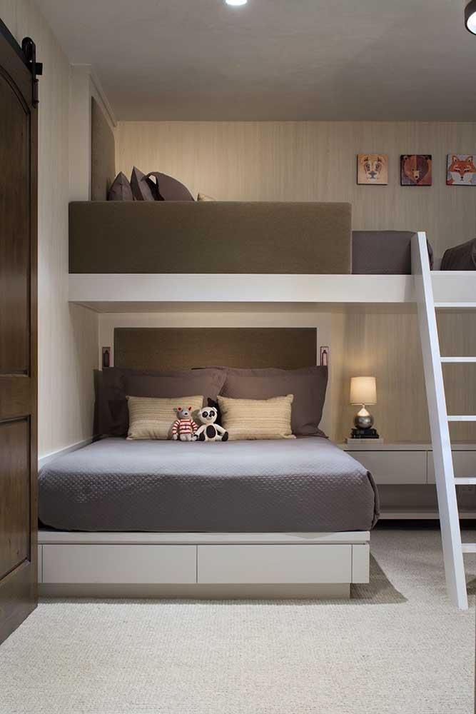 Saiba escolher o beliche para seus filhos para que eles possam dormir confortáveis.