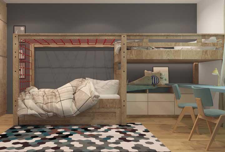 Decore cada espaço conforme a idade das crianças.
