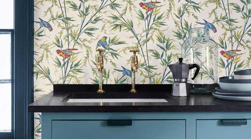 Papel de parede para cozinha: 60 imagens para você escolher
