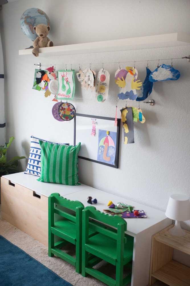 Móveis multifuncionais são ótimos no quarto montessoriano porque mesmo com o crescimento da criança eles ainda podem ser utilizados