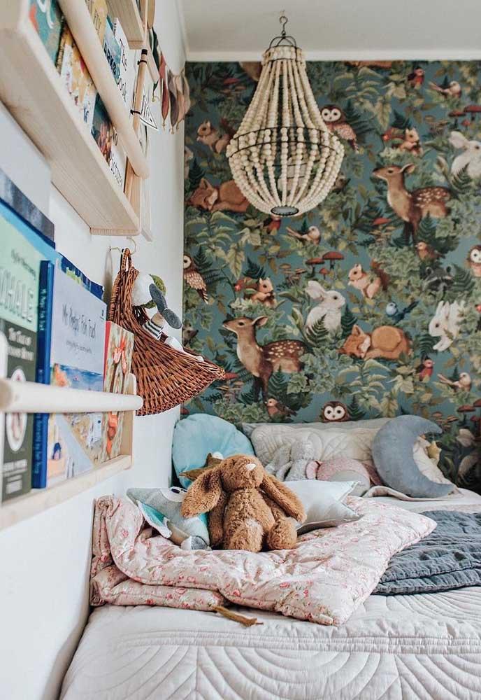 Papel de parede para estimular a imaginação