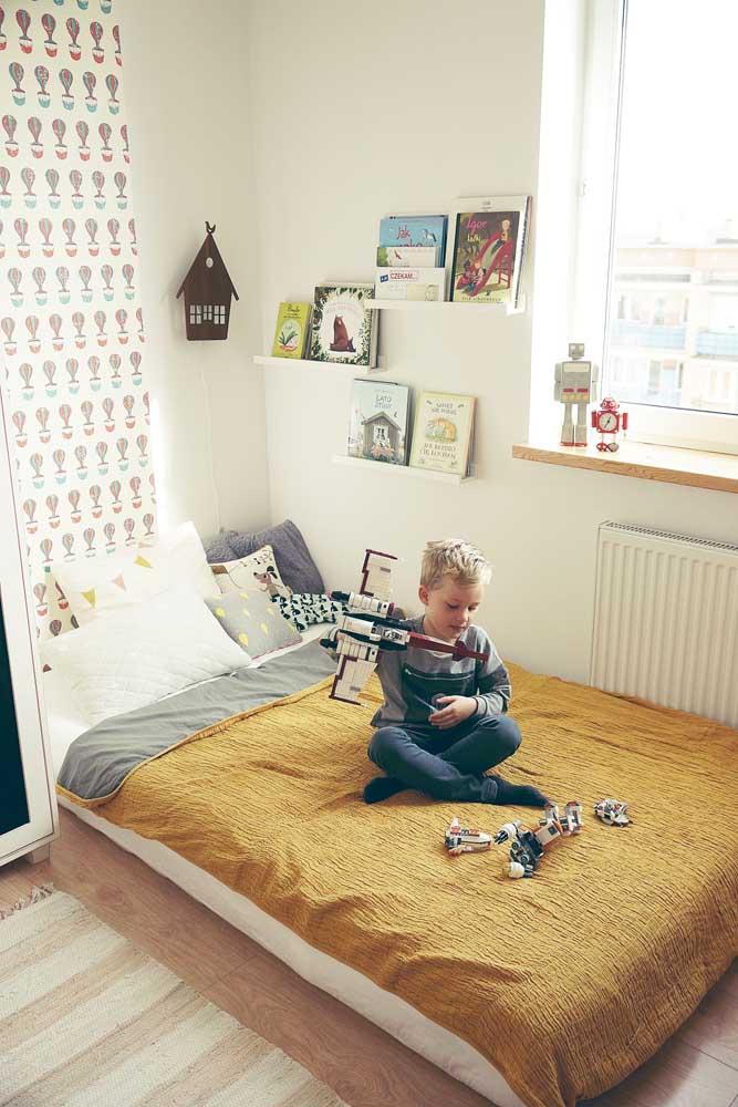 Adapte o tamanho dos móveis ao tamanho da criança
