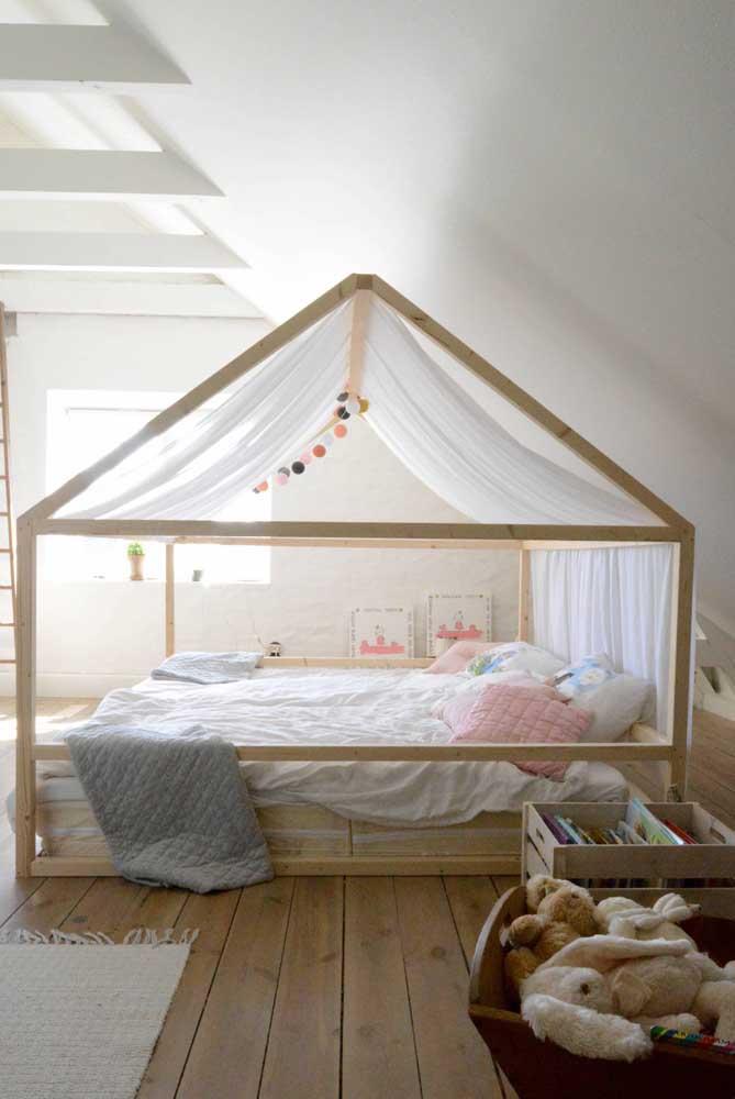 O que acha de partir para o DIY e fazer a própria cama montessoriana do seu filho?