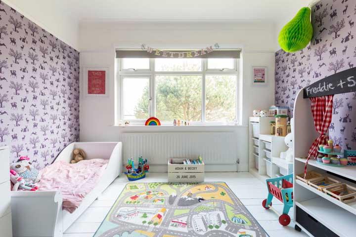 O quarto Montessori é ao mesmo tempo educativo e lúdico