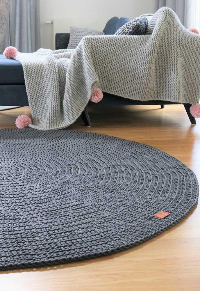 Aposte no crochê para criar uma decoração acolhedora e intimista