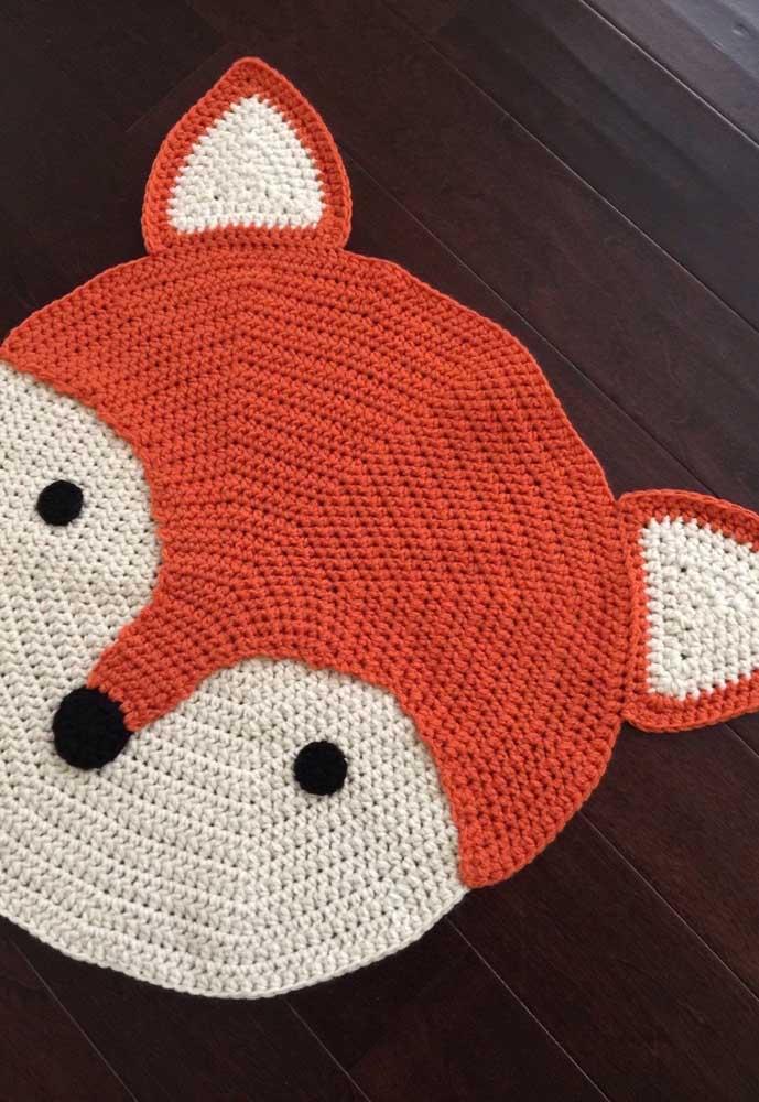 Uma raposinha charmosa para alegrar a decoração do quarto