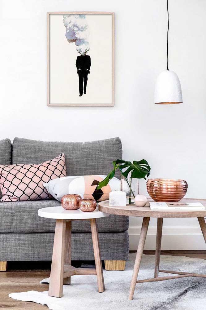 Vazios ou com plantas, os vasos decorativos são indispensáveis à decoração