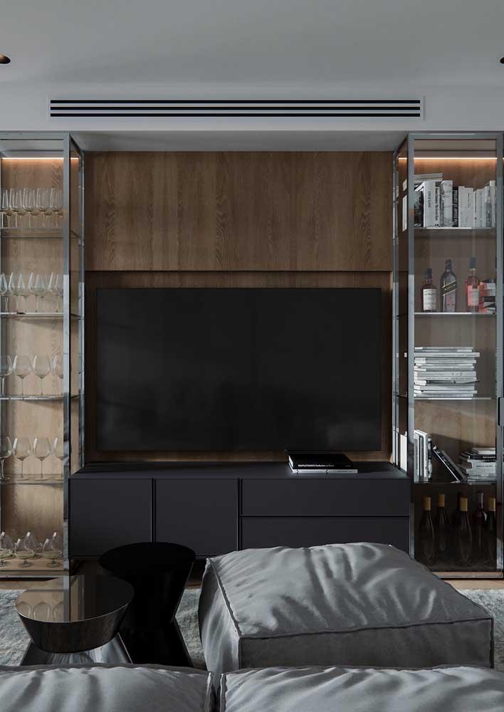 Aparador, rack ou painel para TV?
