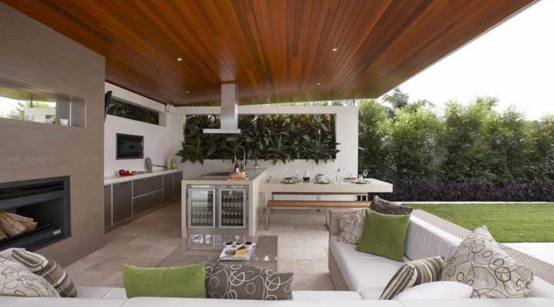 Área gourmet: 60 espaços decorados para se inspirar