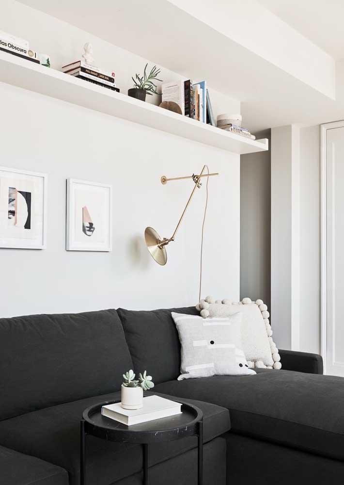 Sem espaço para um cantinho da leitura? Adapte sua sala para ele