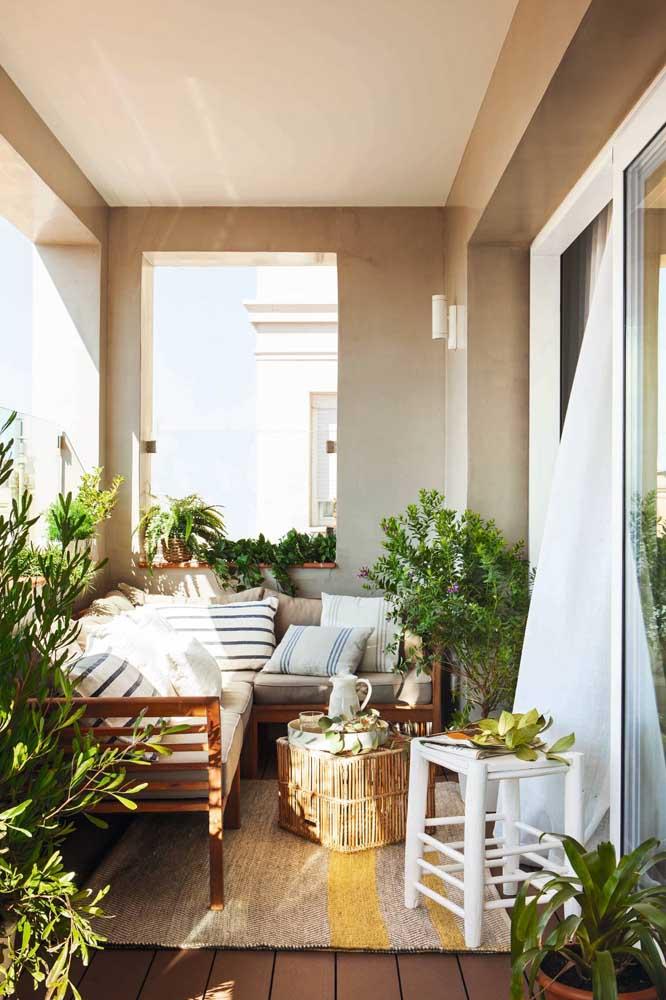 Que tal aproveitar melhor a varanda e fazer nela o seu cantinho da leitura?