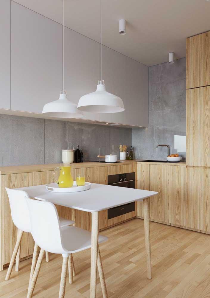 Com planejamento sobra espaço até para uma mesa