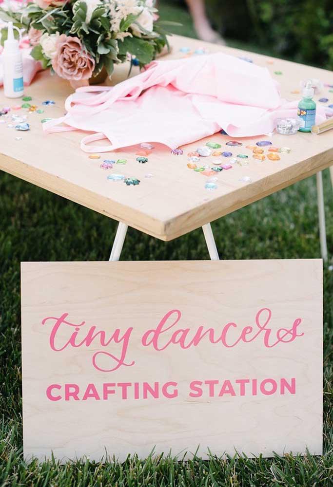 Festa infantil precisa ter um espaço para as crianças brincarem e soltarem a criatividade e imaginação.